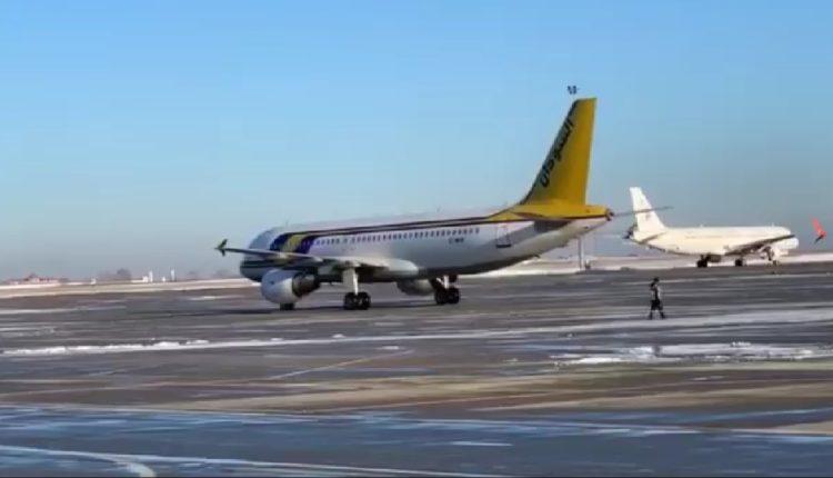 """طائرة""""سودانير"""" تصل الخرطوم قادمة من أوكرانيا"""