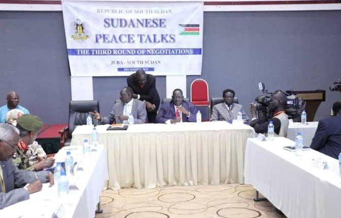 جلسة المفاوضات الأولى بين الحكومة و الجبهة الثورية تُناقش تنفيذ اتفاق إعلان جوبا