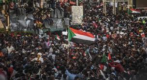 مسيرة مليونية في ذكرى الثورة السودانية