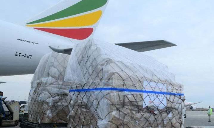 مساعدات طبية مُخصصة لمكافحة (كورونا) تصل مطار الخرطوم
